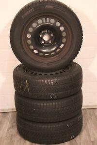 Original-Opel-Astra-J-Roues-Hiver-205-60-r16-92-H-2160142-Pirelli-CONTINENTAL