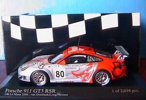 PORSCHE-911-GT3-RSR-80-24H-LE-MANS-2006-VAN-OVERBEEK-1-43-MINICHAMPS-400066480