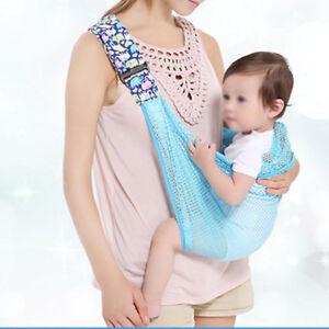 0-24M-Summer-Mesh-Wrap-Cradle-Mom-Nursing-Infant-Sling-Hipseat-Baby-Carrier