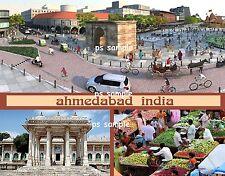 India - AHMEDABAD - Travel Souvenir Flexible Fridge MAGNET