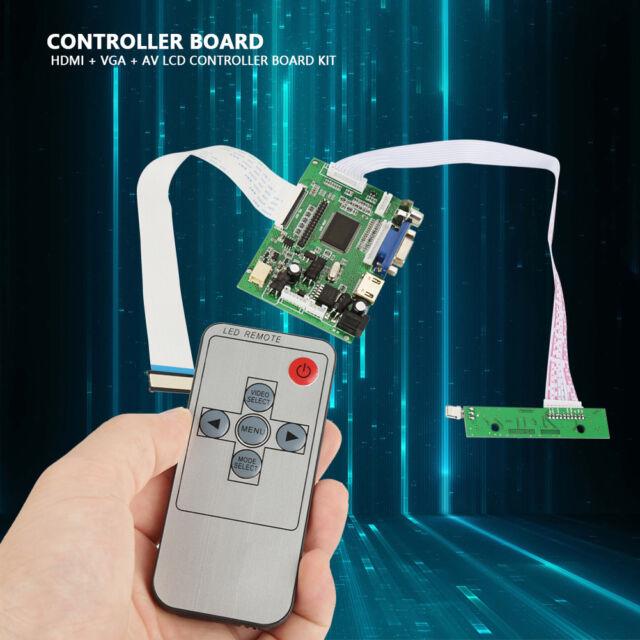 HDMI VGA AV LCD Controller Board for At070tn92 At070tn90 At070tn94 50 Pin  Screen