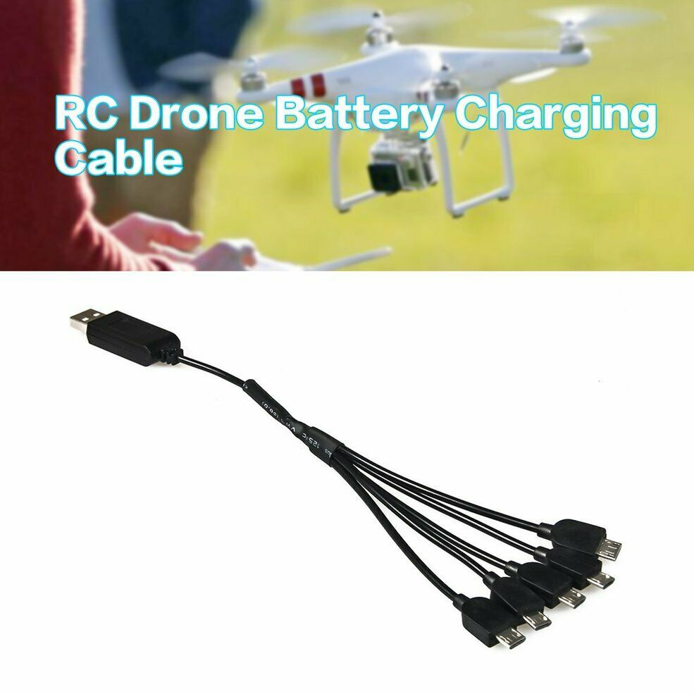 USB Charging Cable For E58 JY019 RC Drone Spare Parts Lipo Battery Charger wj