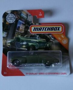 039-41-Cadillac-Series-62-Convertible-Matchbox-MBX-City-9-100-2020-Mattel-Nuevo