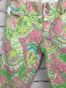 Lilly-Pulitzer-Worth-Skinny-Mini-Ankle-Zip-Jeans-Pink-Paisley-Chin-Chin-Size-0