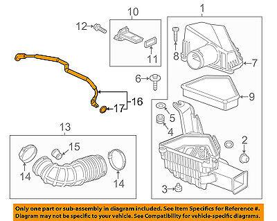 Cadillac Gm Oem 12 14 Cts 3 6l Air Cleaner Intake Pcv Valve Tube Hose 12620142 Ebay