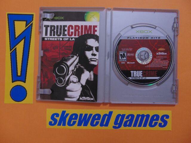 True Crimes Streets Of La - Platinum Hits - cib - XBox Microsoft