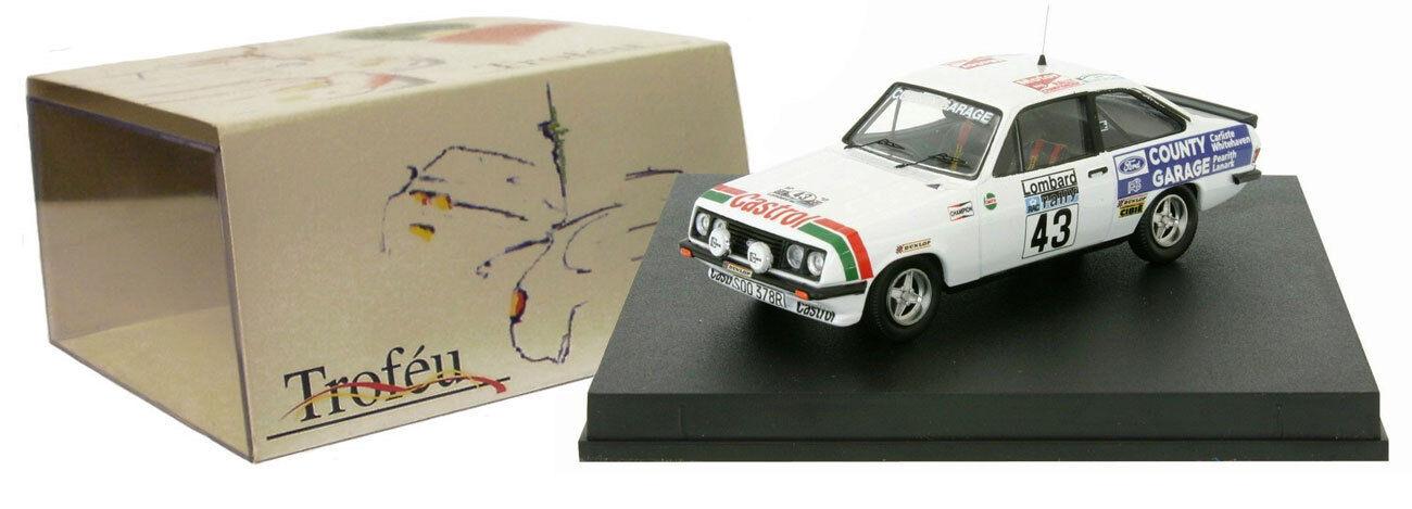 TROFEU 1813 FORD ESCORT RS 2000  43 Rac Rally Rally Rally 1977-Malcolm Wilson échelle 1 43 44d456