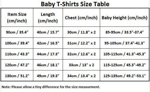 Baby T-Shirt in Snail for Boys Girls in Height from 85 cm to 135 cm in Red