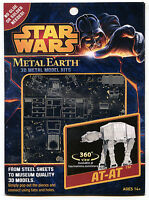 Two Model Kits Metal Earth Star Wars At-at Atat & Star Wars Destroyer Droid