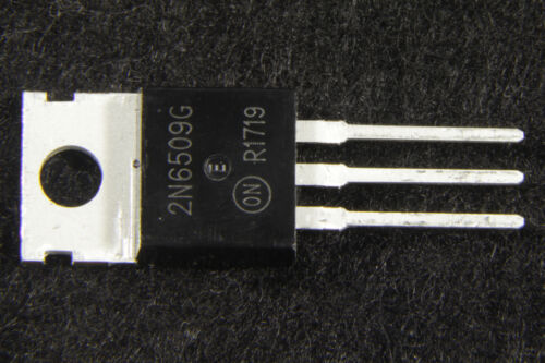 1PCS 2N6509G Encapsulation:TO-220,Silicon Controlled Rectifiers Reverse Manu:ON