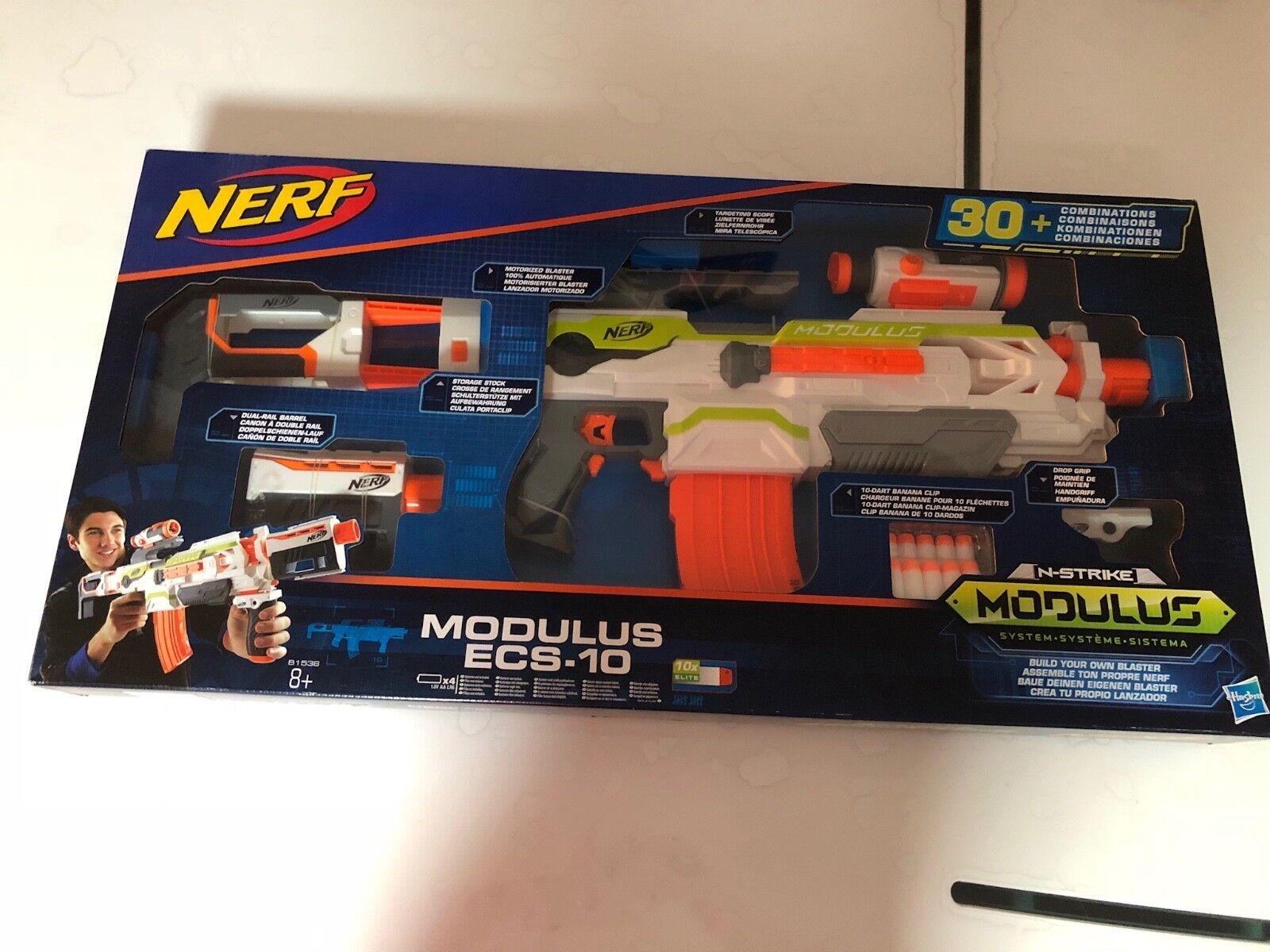 Hasbro Nerf Nerf Nerf N-Strike Modus ECS-10 B1538 Kinderspielzeug 4026d7
