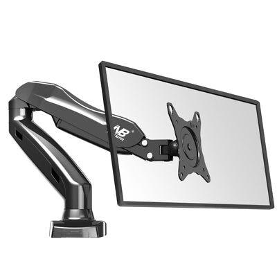 NB F80 17 to 27 Inch Gas Strut Monitor TV Desktop Bracket Holder Mount