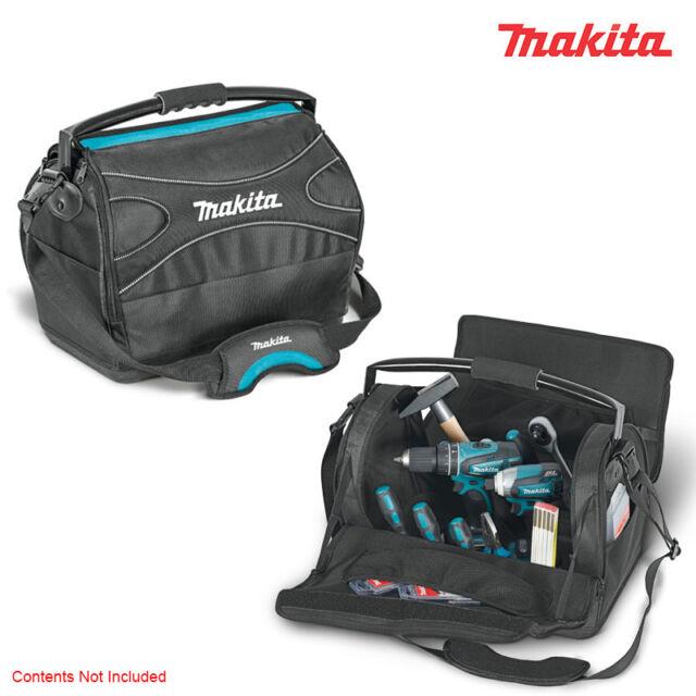 Original Makita Electricians Wing Open Type Multi Hand Tool Bag Case Organizer