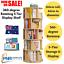thumbnail 1 - AU-1.6m Wooden 5Tier Rotating Revolving Book Shelf Bookcase Decor Organiser- Oak