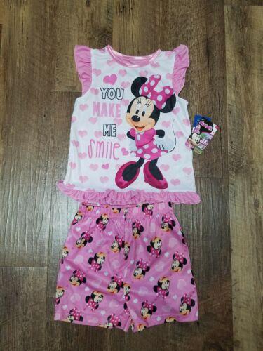NEW!! pajama/'s Toddler girls Minnie 2 pc