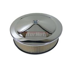 OFF SET 14 INCH AIR CLEANER BASE FOR GM CHEVY