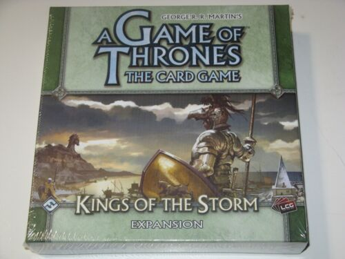 Kings of the Storm expansion NEW SW Game of Thrones living card LCG Baratheon