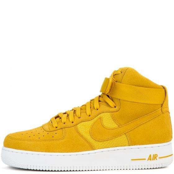 Nike Air Force 1 High Gold '07 SZ 13 University Gold High Mineral Gold White 315121-700 8e5e03