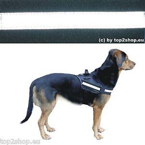 Reflektor-Logo-Set-Reflektierend-Reflektorstreifen-Geschirr-Julius-K-9-Hund-Logo