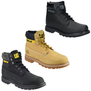 Aggressiv Cat Caterpillar Colorado Goodyear Welted Non-safety Mens Ankle Work Boots Uk3-13 Schnelle Farbe