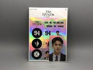 Exo Sm Official Elyxion Dot Goods Deco Sticker With Photocard