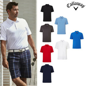 Callaway-Men-039-s-Golfing-Golf-Tour-Polo-T-Shirt-CGKR9066-Short-Sleeve-T-Shirt