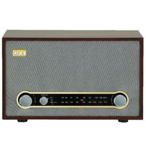 Qfx Retro Bluetooth/am/fm Radio - Wireless (retro100)