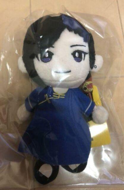 BANANA FISH Puppet Charm SHORTER WONG Plush Doll Stuffed toy Anime JAPAN 2019