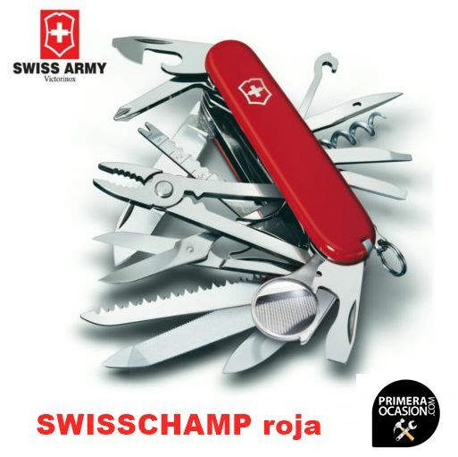 Navaja Suiza Victorinox SwissChamp, tienda Primeraocasion