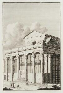 Tempel-des-Antoninus-Pius-und-der-Faustina-in-Rom-L-039-Ancienne-Rome-1709-Rad