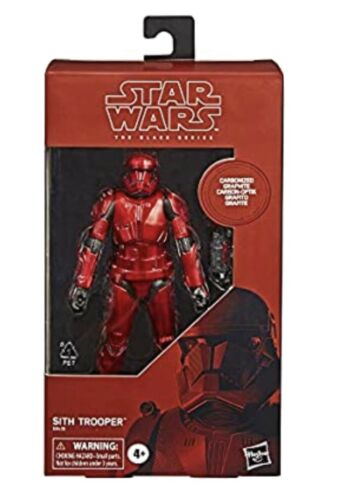 Star Wars The Black Series Carbonized Red Sith Trooper Amazon Exclusive Hasbro