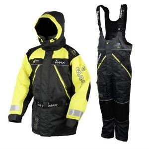 IMAX SeaWave Floatation Suit 2-teiliger Floating Anzug Schwimmanzug Floater Angelsport
