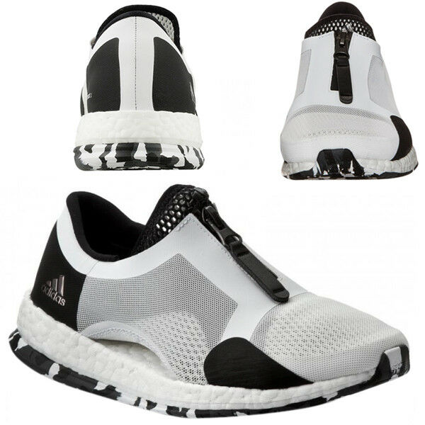 Adidas Pureboost Tr Reißverschluss Damen Laufschuhe Turnschuhe ohne Bügel