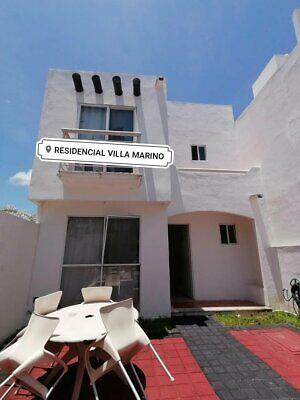 En renta en Villamarino casa amueblada CANCUN