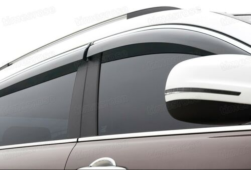 Car Window Visor Vent Deflector Sun//Rain Guards for Hyundai Tucson 2016-2020