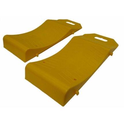 Tyre Saver Parking Mat Car Storage Pair Wheel Protector