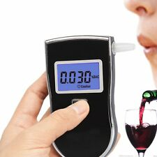 Prefessional Police Digital Breath Alcohol Tester Breathalyser Analyzer Detector