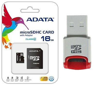 Lot of 2 A-DATA 16 GB Class 4 MicroSDHC TF Micro SD Memory Card for Galaxy Note