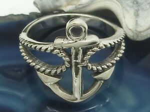Ancre-ancre-en-argent-sterling-925-anneau-Maritime-tatouage-rockabilly