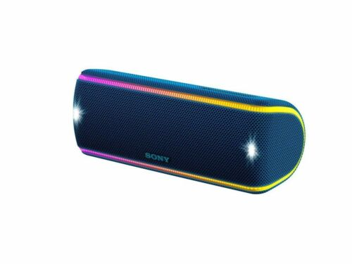 Sony SRS-XB31 Portable Extra Bass  Wireless Bluetooth Speaker NFC// Lights BLUE