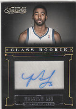 2012/13 Timeless Treasures Glass Rookie Malcolm Lee autograph 12/25 Timberwolves