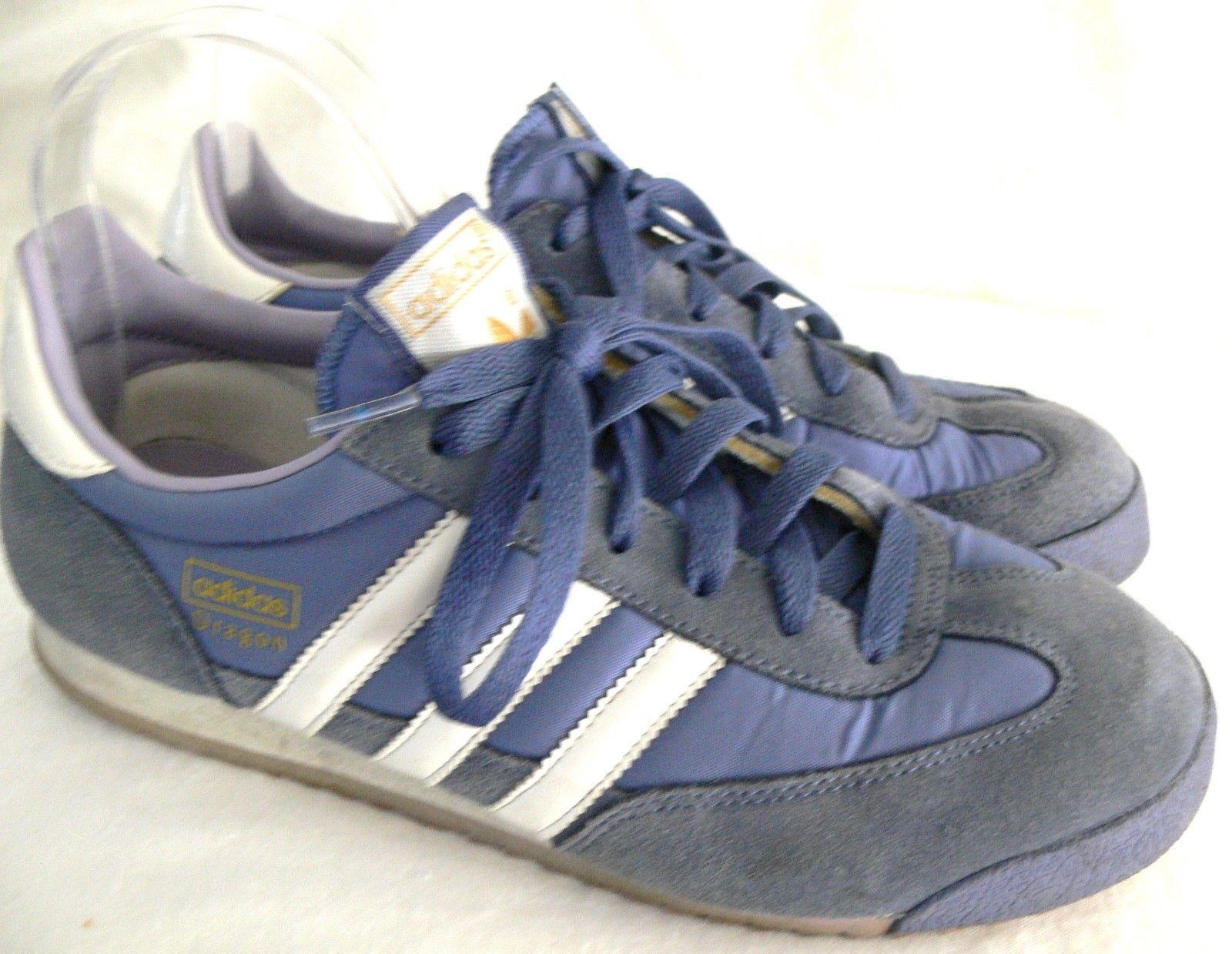 17505275eb7823 Adidas Dragon Shoes Shoes Shoes Blue Mens US 7 JP 240 Original Sneakers  Dragons 196586