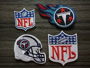 Tennessee Titans Logo NFL Football Hat Shirt Embroidered Iron On Jersey Patch