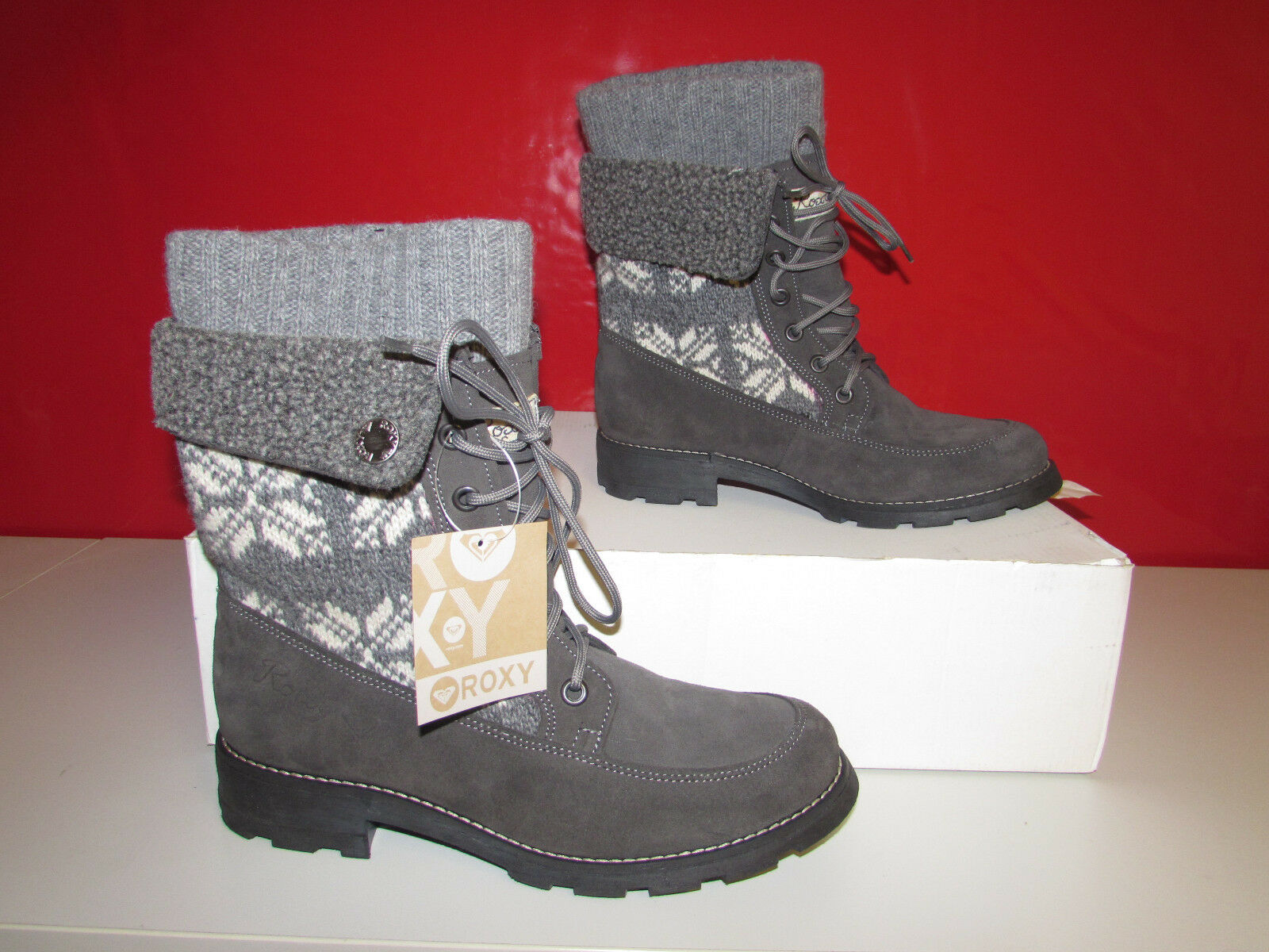 Roxy Schuh Jenny Halbschaft Stiefel EU41