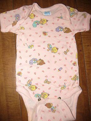 Girls Creeper Bodysuit Snapsuit 6-18M New Basic Plain Baby Infant 1ZEE Boys