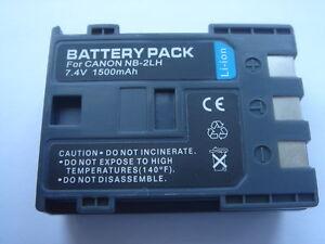 Batterie-NB-2LH-NB-2L-7-4V-1500mAh-pour-CANON-EOS-400D-ACCU-Battery