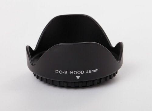 Lens Hood Universal 49mm black for Sony E 18-55mm 3.5-5.6 OSS SEL1855