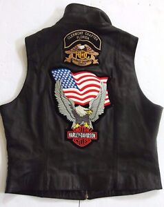 Club Owners Ass Bad Biker U Ladies Flag Group Vest Patch Biker Harley S Tx5qgn4w50