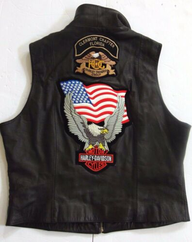 Bad Ass Club Patches U Biker Harley Vest Ladies Group Flag Owners Motorcykel s rr4wCOq