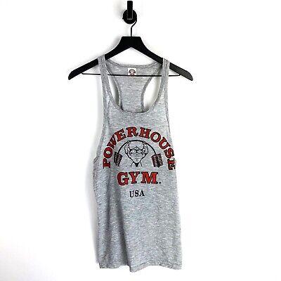 Mens S M L XL  gym aesthetic rev alphalete Onthec Tank Top Cut Off White